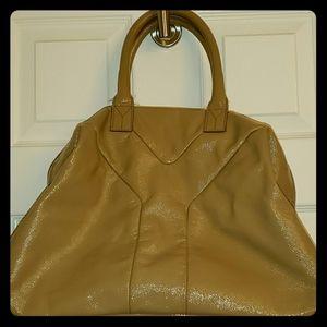 Yves Saint Laurent Y Patent leather handbag